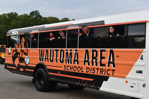 Wautoma Schools adds an extra-curricular bus to the fleet