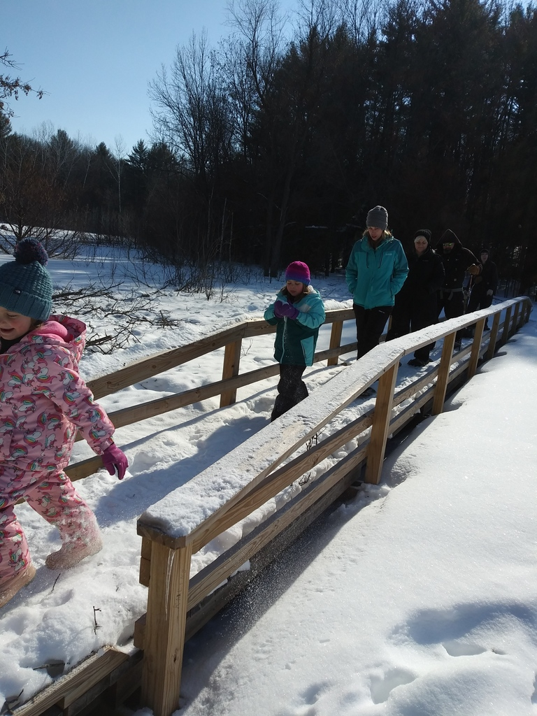 Bohn Lake Snowshoe/Hike with A+ and the Ice Age Trail Alliance