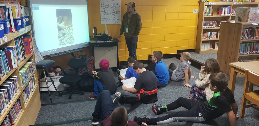 Mr. Mark shares pictures of his hiking trips in Wisconsin and Colorado during Adventure Club.