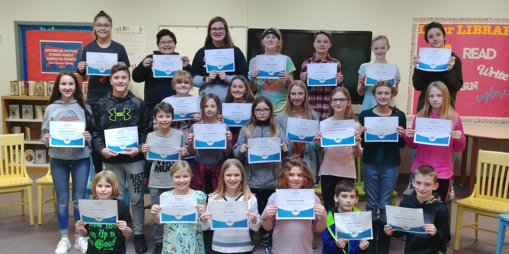 2020 Parkside Spelling Bee Participants