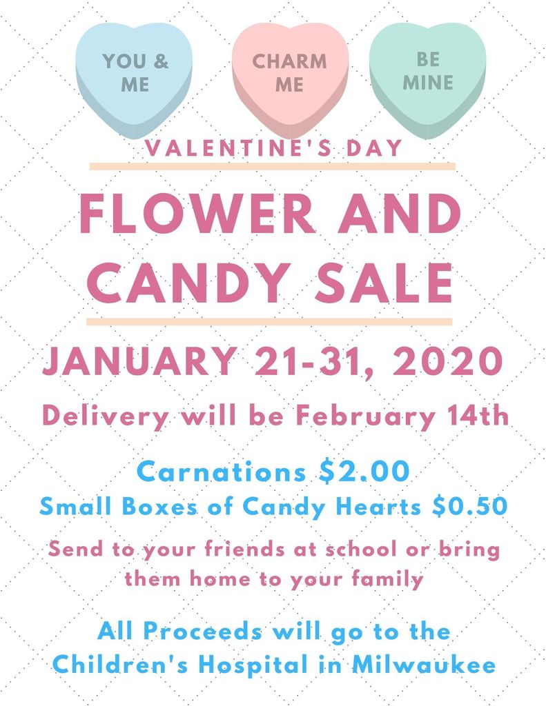 Flower and Candy Sale