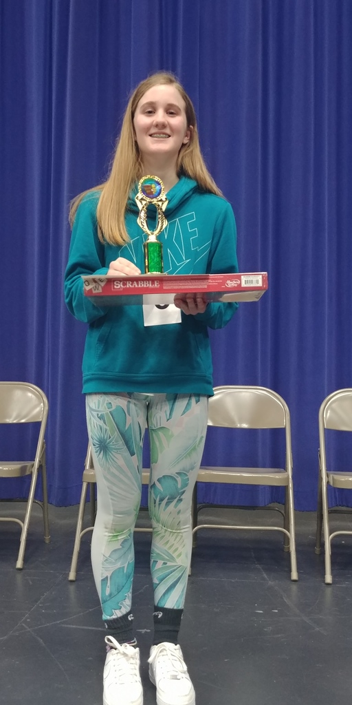Our 1st Place Spelling Bee Winner